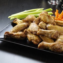 Peanut Chicken Wings recipe