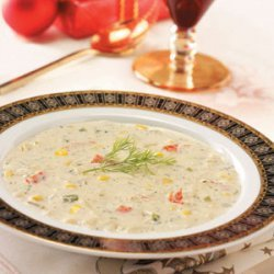 Creamy Crab Soup recipe