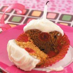 Cherry Gingerbread Cupcakes recipe