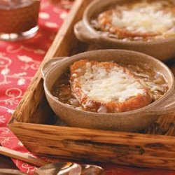 Four-Cheese French Onion Soup recipe