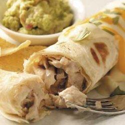 Turkey Pecan Enchiladas recipe