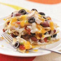 Corn Tortilla Chicken Lasagna recipe