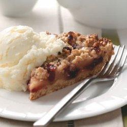 Apple-Berry Crumb Pie recipe