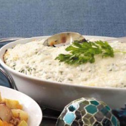 Four-Cheese Rice Casserole recipe