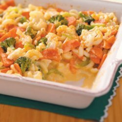 Veggie Macaroni and Cheese recipe