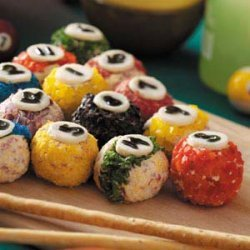 Rack 'em Up Cheese Balls recipe