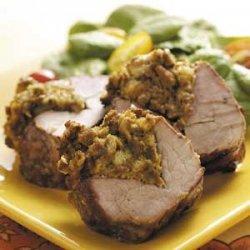 Grilled Stuffed Pork Tenderloin recipe