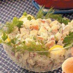 Creamy Herbed Potato Salad recipe