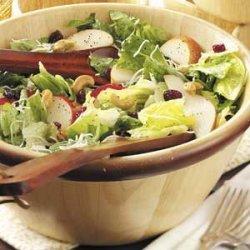 Cashew-Pear Tossed Salad recipe