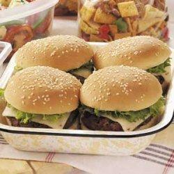 Southwestern Backyard Burgers recipe