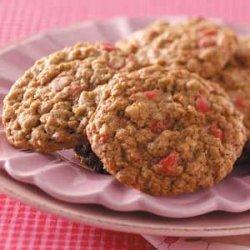 Cherry Oatmeal Cookies recipe