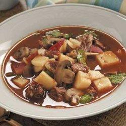 Meat and Potato Soup recipe