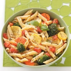 Pasta with Fresh Vegetables recipe