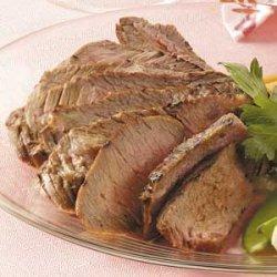 Flavorful Marinated Sirloin Steak recipe