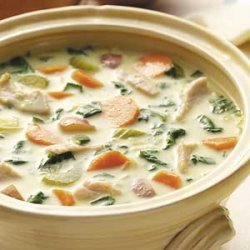 Curried Turkey Vegetable Soup recipe