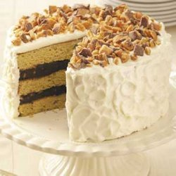 Blue-Ribbon Peanut Butter Torte recipe
