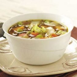 Winter Harvest Vegetable Soup recipe
