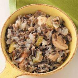 Wild Rice Mushroom Casserole recipe