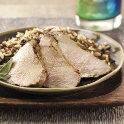Herb Grilled Pork Tenderloin recipe