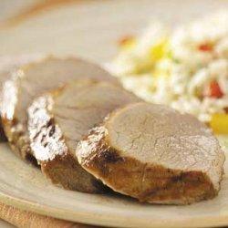 Gingered Pork Tenderloin recipe