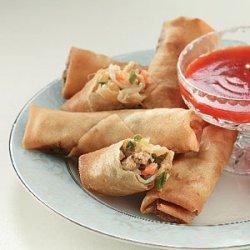 Pork 'n' Shrimp Spring Rolls recipe