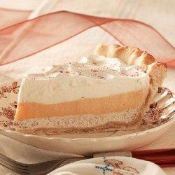 Eggnog Cream Pies recipe