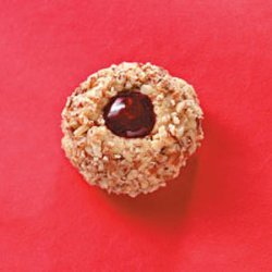 Pecan Thumbprint Cookies recipe