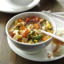 Minestrone with Turkey recipe