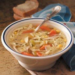 Chunky Turkey Soup recipe