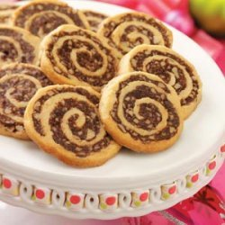 Fudgy Pinwheel Cookies recipe