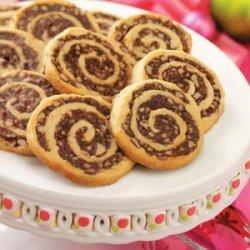 Fudgy Pinwheel Cookies recipe
