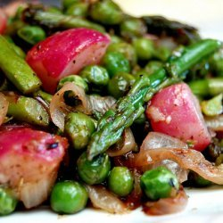 Spring Vegetable Sauté recipe