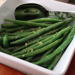 Green Beans with Lemon and Oil recipe