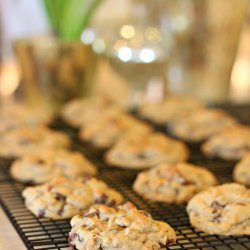 Chocolate Chip Orange Oatmeal Cookies recipe