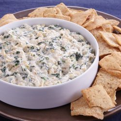 Onion and Spinach Dip recipe