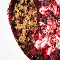 Summer Berry Crisp recipe