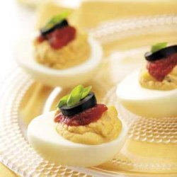 Santa Fe Deviled Eggs recipe