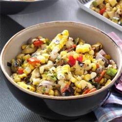 Grilled Corn Salsa recipe