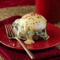 Artichoke & Spinach Eggs Benedict recipe