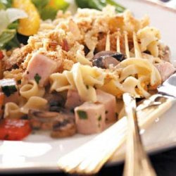 Herbed Turkey Tetrazzini recipe