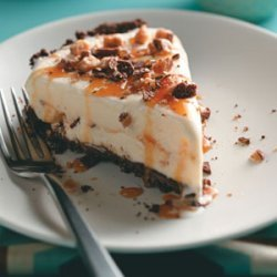 Caramel Toffee Ice Cream Pie recipe