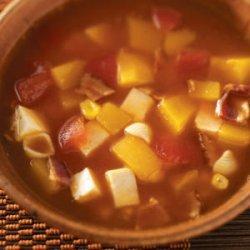 Curry Chicken Pumpkin Soup recipe