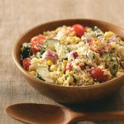 Summer Garden Couscous Salad recipe