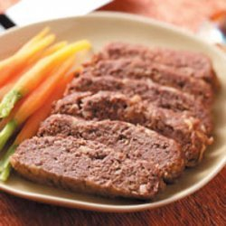 Apple Meat Loaf recipe