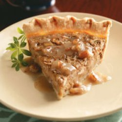 Sweet Potato Pie & Maple Praline Sauce recipe