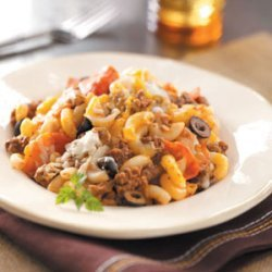 Hearty Pizza Casserole recipe