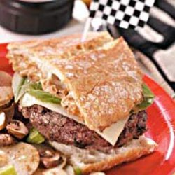 Race Day Burgers recipe