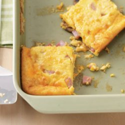 Ham and Egg Breakfast Casseroles recipe