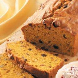 Fruit-Nut Pumpkin Bread recipe