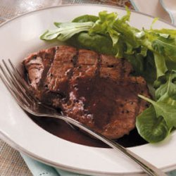 Filet Mignon with Red Wine Sauce recipe